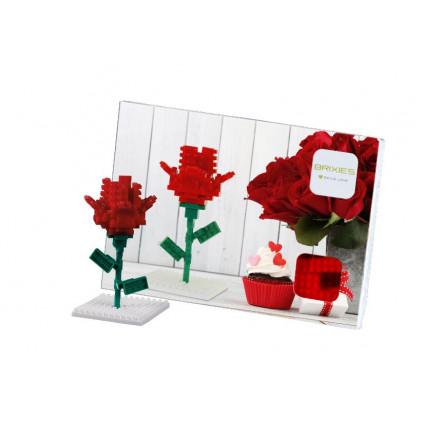 BR220015 pohlednice ruze