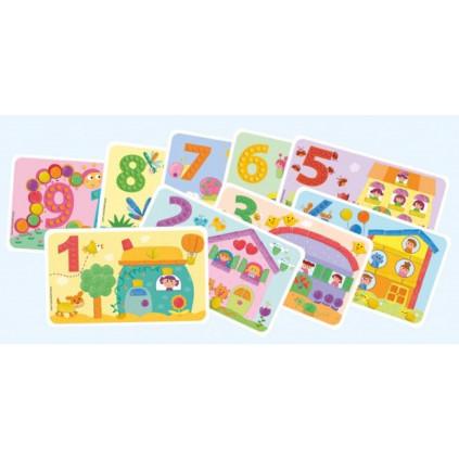 PM160171 PLAYMAIS Card set Fun to learn Cisla