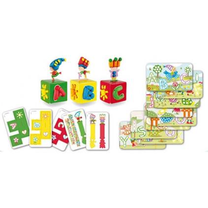 PM160246 PLAYMAIS Card Set Fun to learn ABC