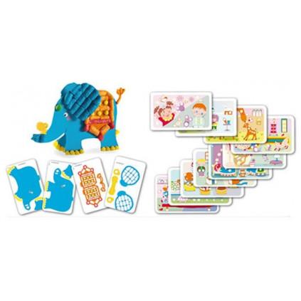 PM160349 PLAYMAIS Card Set Fun to learn Protiklady