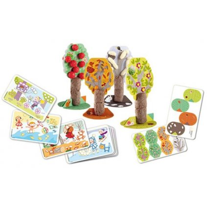 PM160372 PLAYMAIS Card Set Fun to learn Rocni obdobi