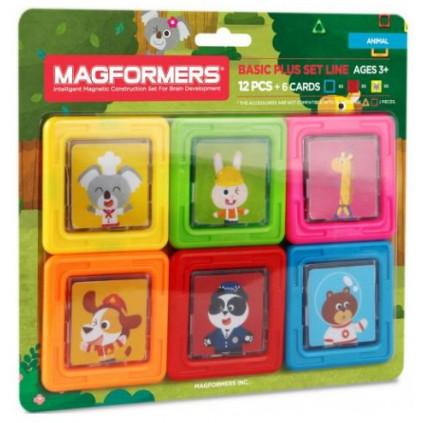 MG715010 magformers karticky zviratka