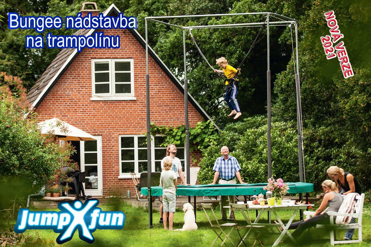 JumpXfun - Nadstavba na trampolínu