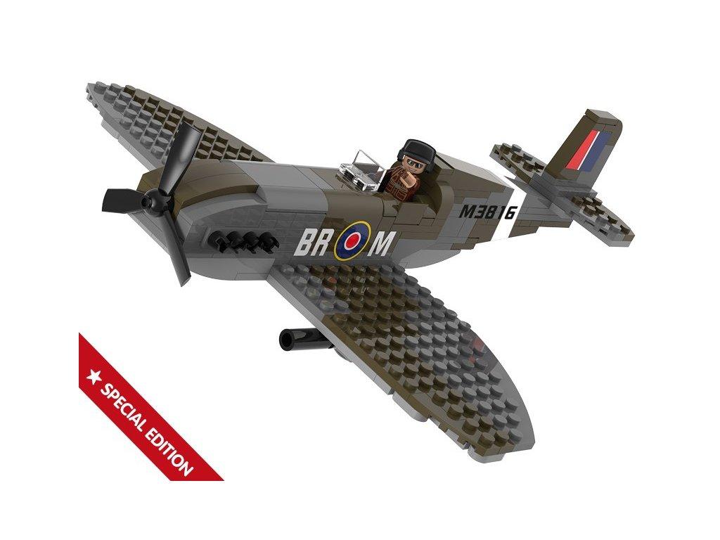 Sluban WWII M38-B70071 Stíhací letoun Spitfire