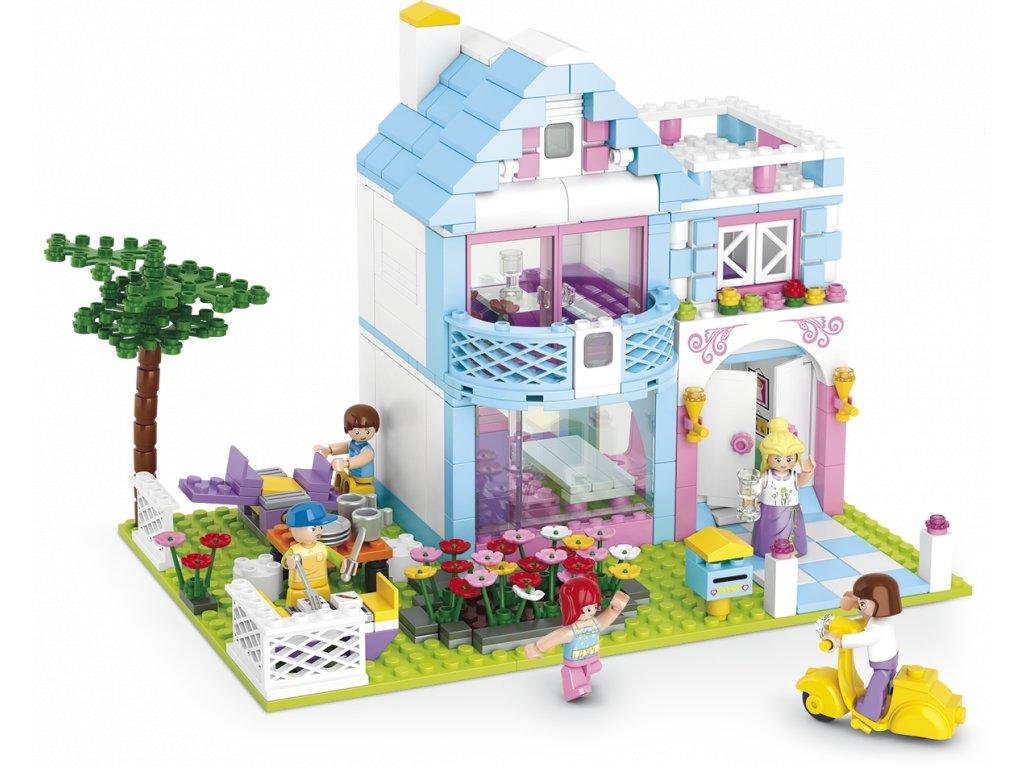 Sluban Girls Dream Town M38-B0535 Rodinný dům