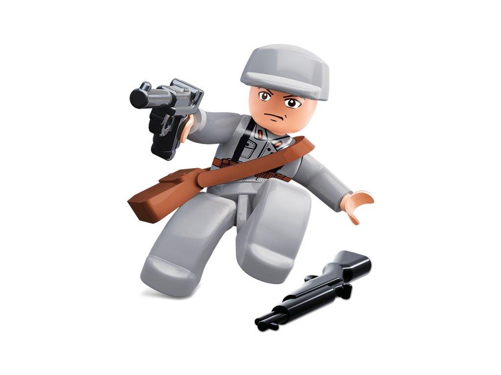 Sluban ARMY Figurky M38-B0582K WW2 Čínský voják