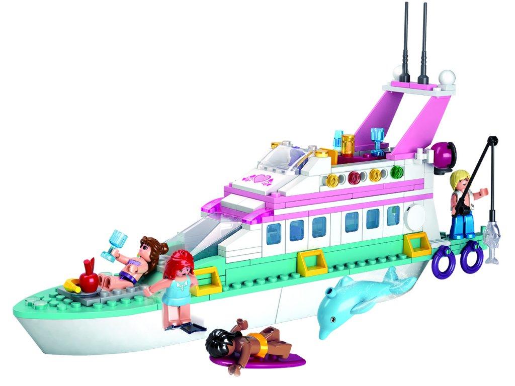 Sluban Girls Dream Holidays M38-B0609 Rekreační jachta