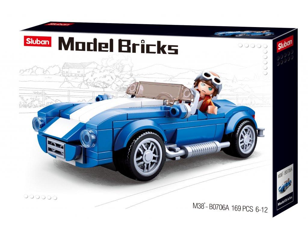 Sluban Model Bricks M38-B0706A Sportovní vůz