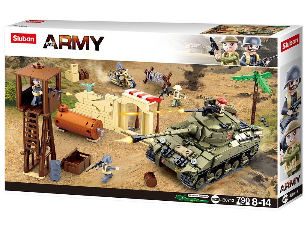 Sluban Army M38-B0713 Válečná bitva