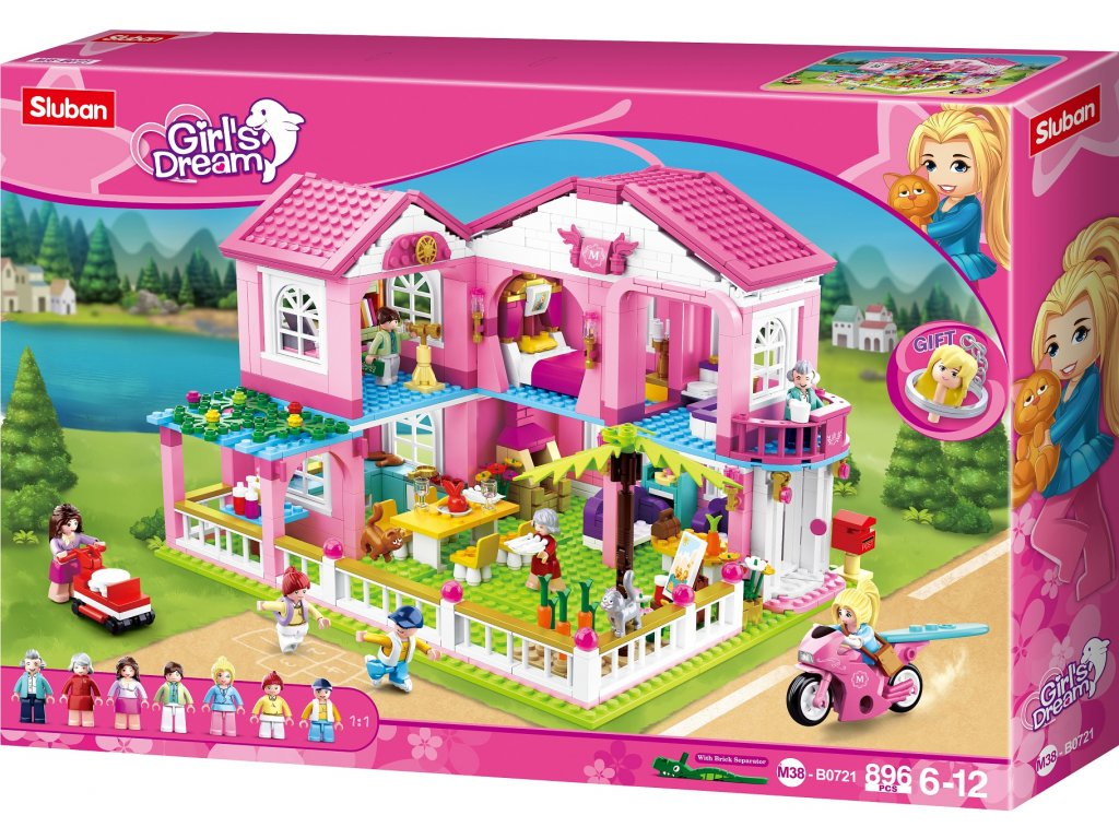 Sluban Girls Dream M38-B0721 Velká letní vila