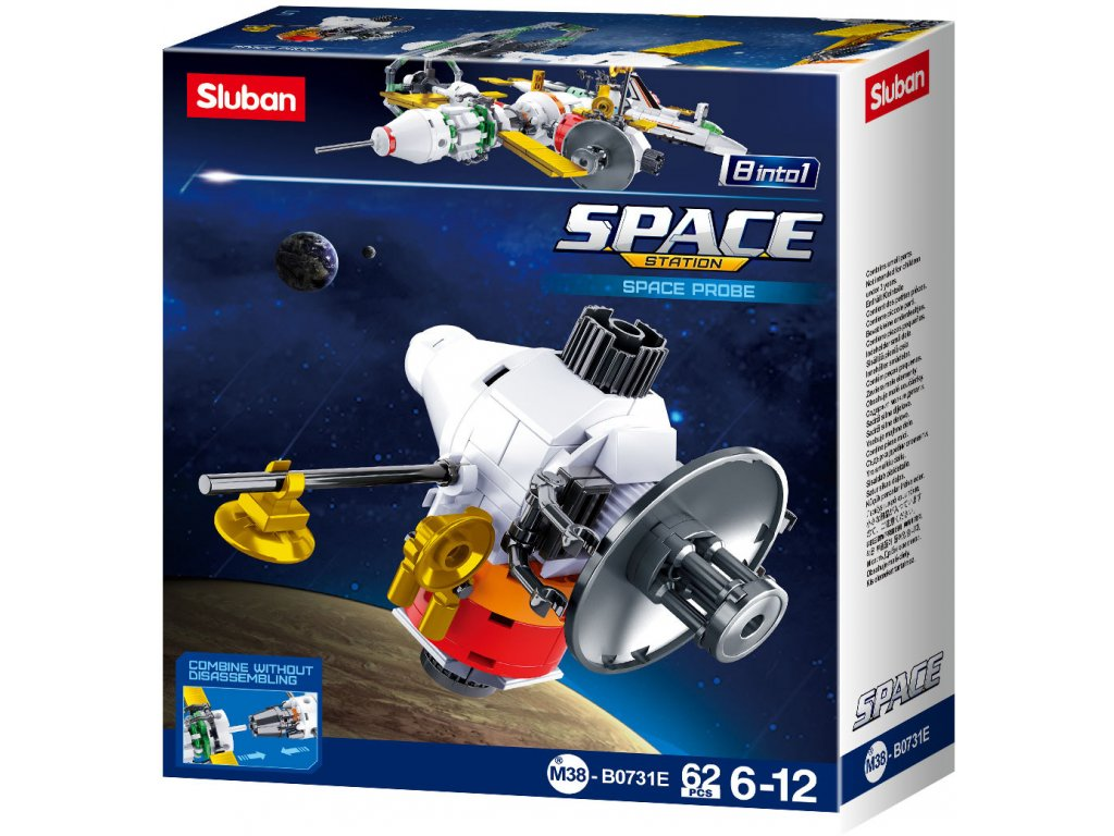 Sluban Space 8into1 M38-B0731E Satelit E