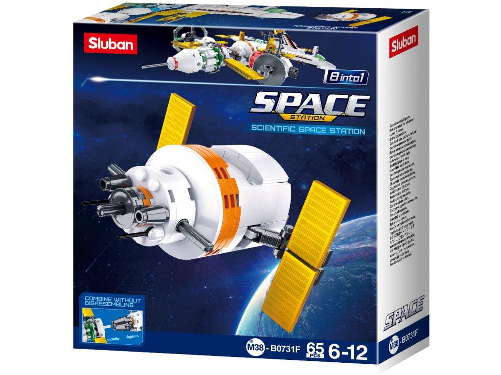 Sluban Space 8into1 M38-B0731F Satelit F