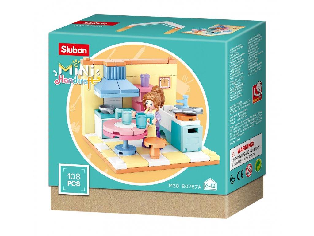 Sluban Mini pokojíčky M38-B0757A Kuchyňka