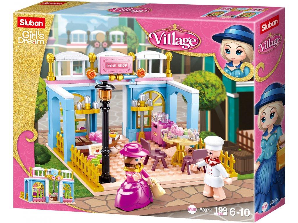 Sluban Girls Dream Village M38-B0873 Dobová pekárna