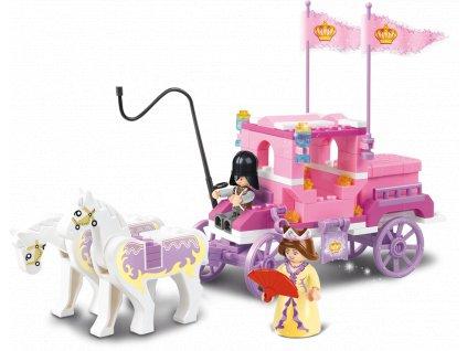 Sluban Girls Dream Princess M38-B0250 Královský kočár