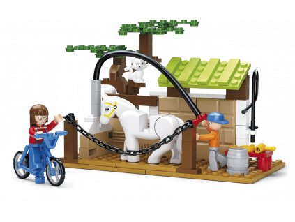 Sluban Town Farma M38-B0557 Péče pro koně