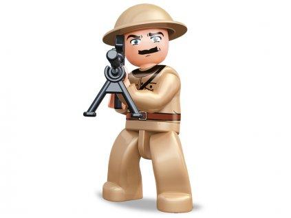 Sluban ARMY Figurky M38-B0582I WW2 Franckouzký voják