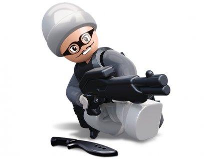 Sluban Figurky Maskovaný zloděj M38-B0586L