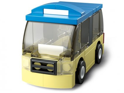 Sluban Builder M38-B0598D - Autobus