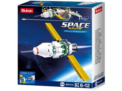 Sluban Space 8into1 M38-B0731A Satelit A