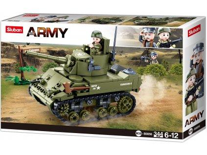 Sluban Army WW2 M38-B0856 Malý spojenecký tank