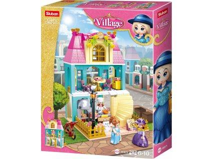 Sluban Girls Dream Village M38-B0875 Dobová restaurace - pizzerie