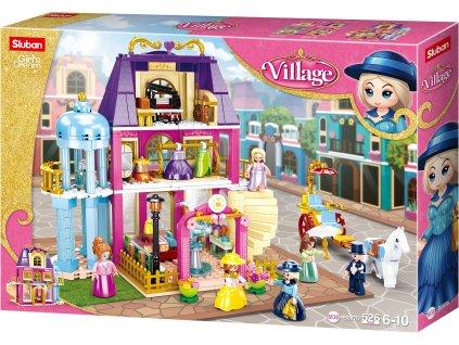 Sluban Girls Dream Village M38-B0876 Dobový obchodní dům
