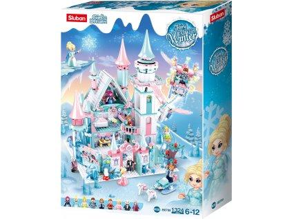 Sluban Girls Dream M38-B0789 Ledový hrad pro zimní víly