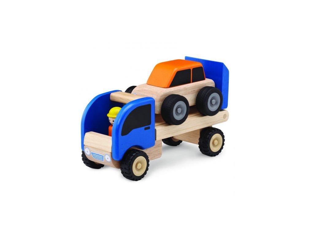 112 drevene mini odtahove auto