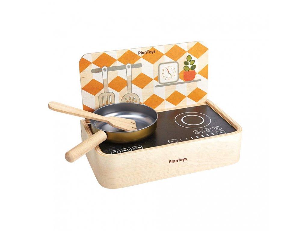 3482 plan toys pretend kitchen portable