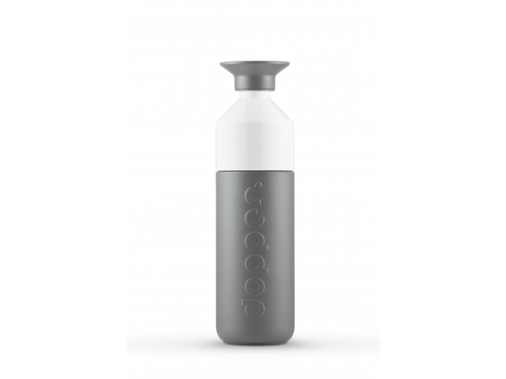 Dopper Glacier Grey bottle full