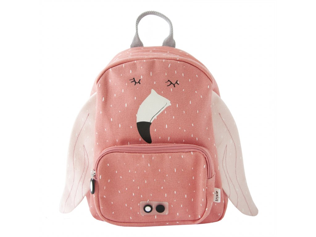 1130985 detsky batoh trixie mrs flamingo