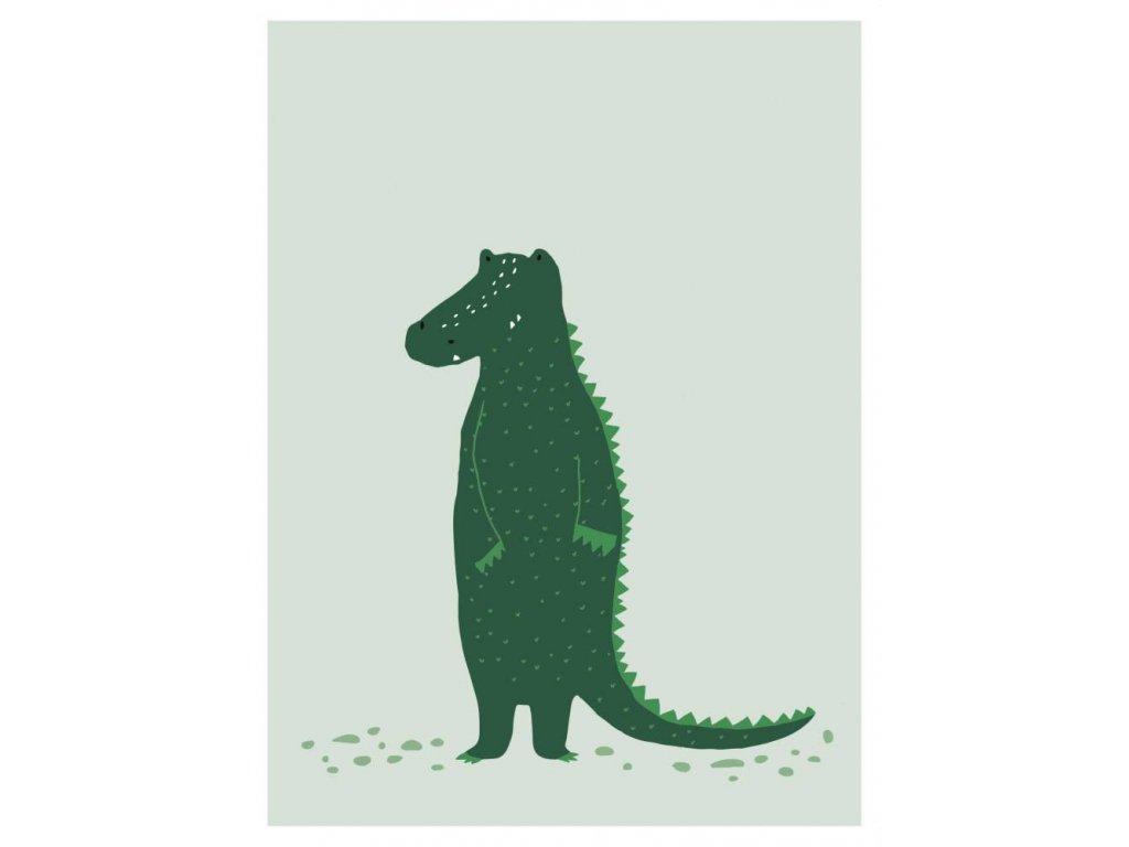 Plakát - Mr Crocodile