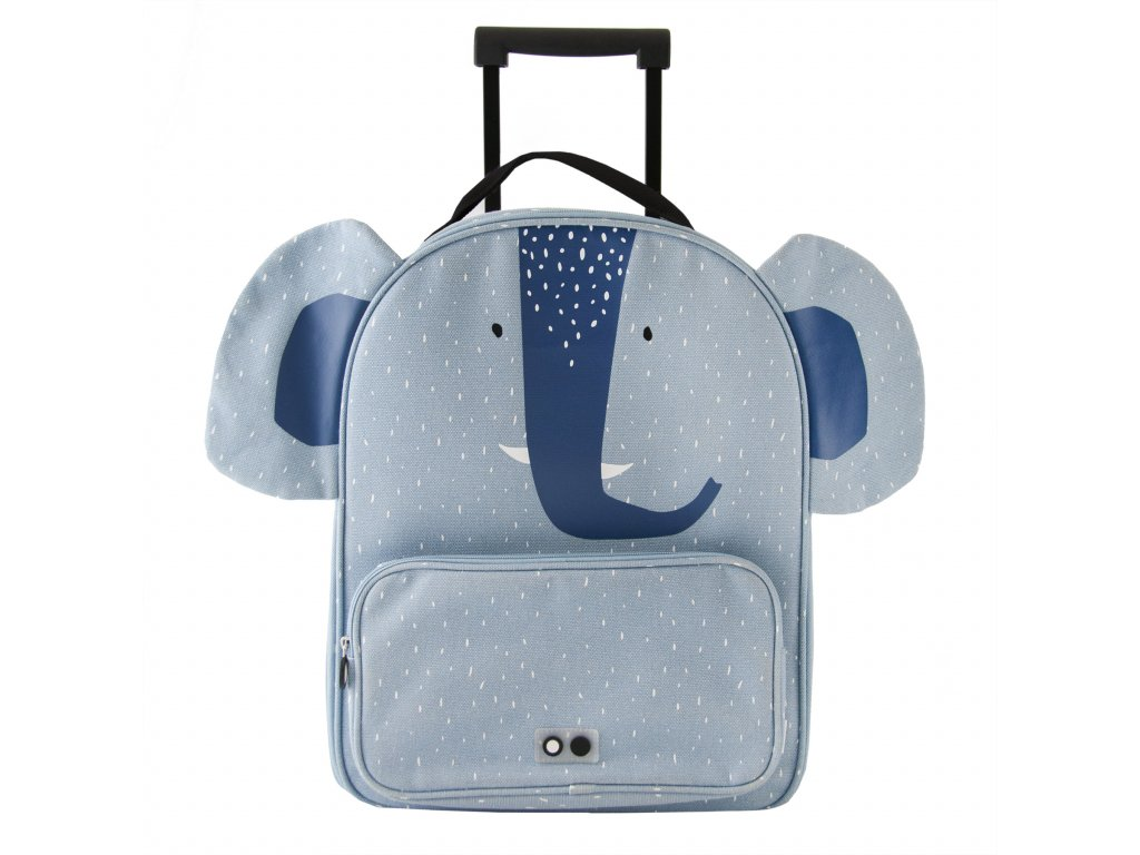 Trixie Dětský kufr na kolečkách - Mrs.Elephant