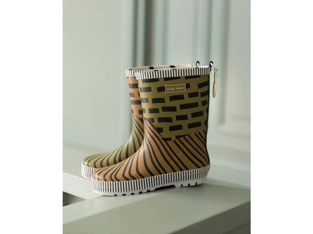 18080 product Sticky Lemon rain boots (2)