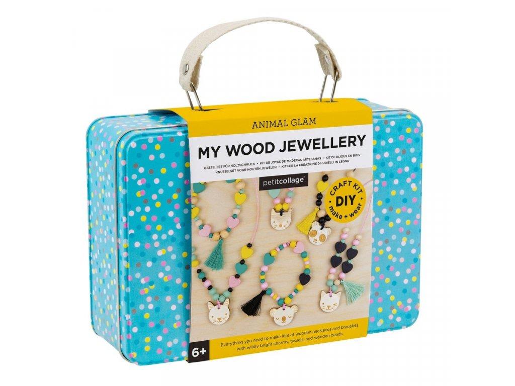 Dřevěné šperky pro děti