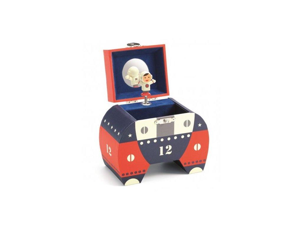 Hrací skříňka na poklady Djeco - Kosmonaut
