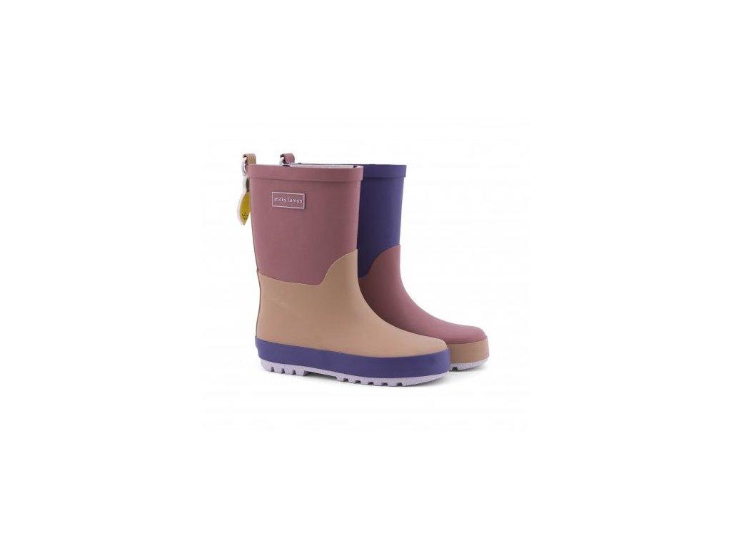 18083 product Sticky Lemon rain boots
