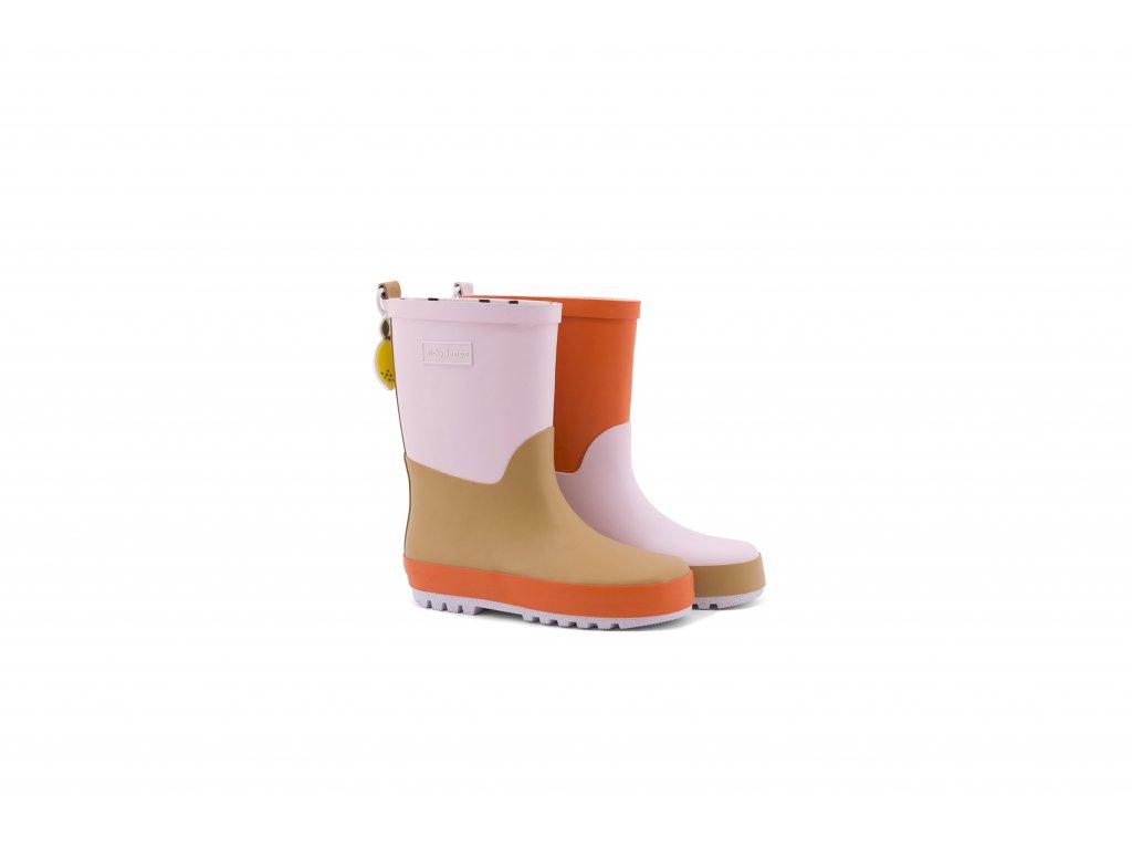 18082 product Sticky Lemon rain boots