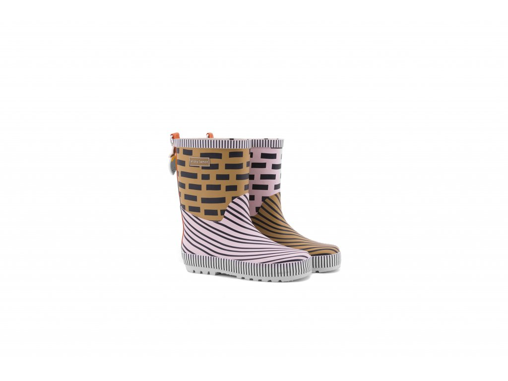 18081 product Sticky Lemon rain boots
