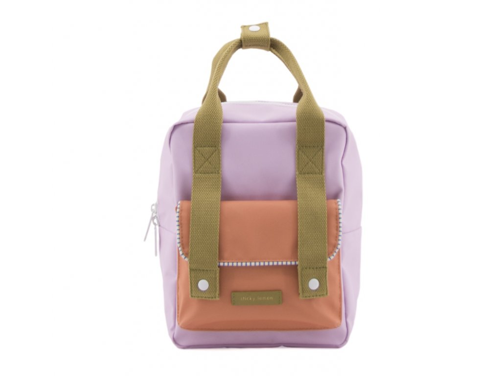 1801413 Sticky Lemon envelope deluxe backpack small Madame olive, gustave lilac, concier(1)