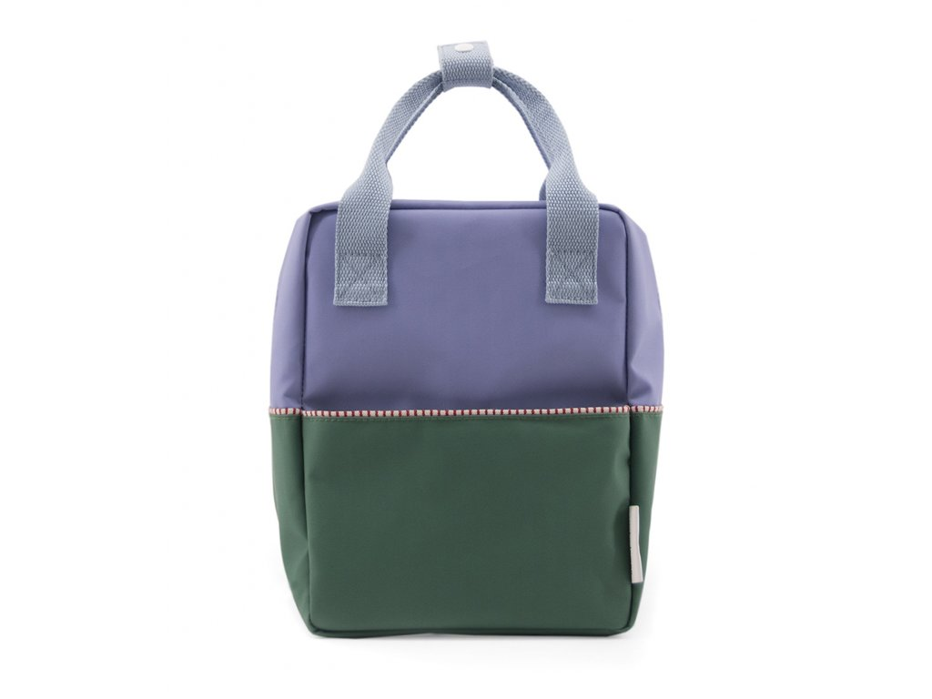 1801394 Sticky Lemon product backpack small colour blocking moustafa purple, henckles 1