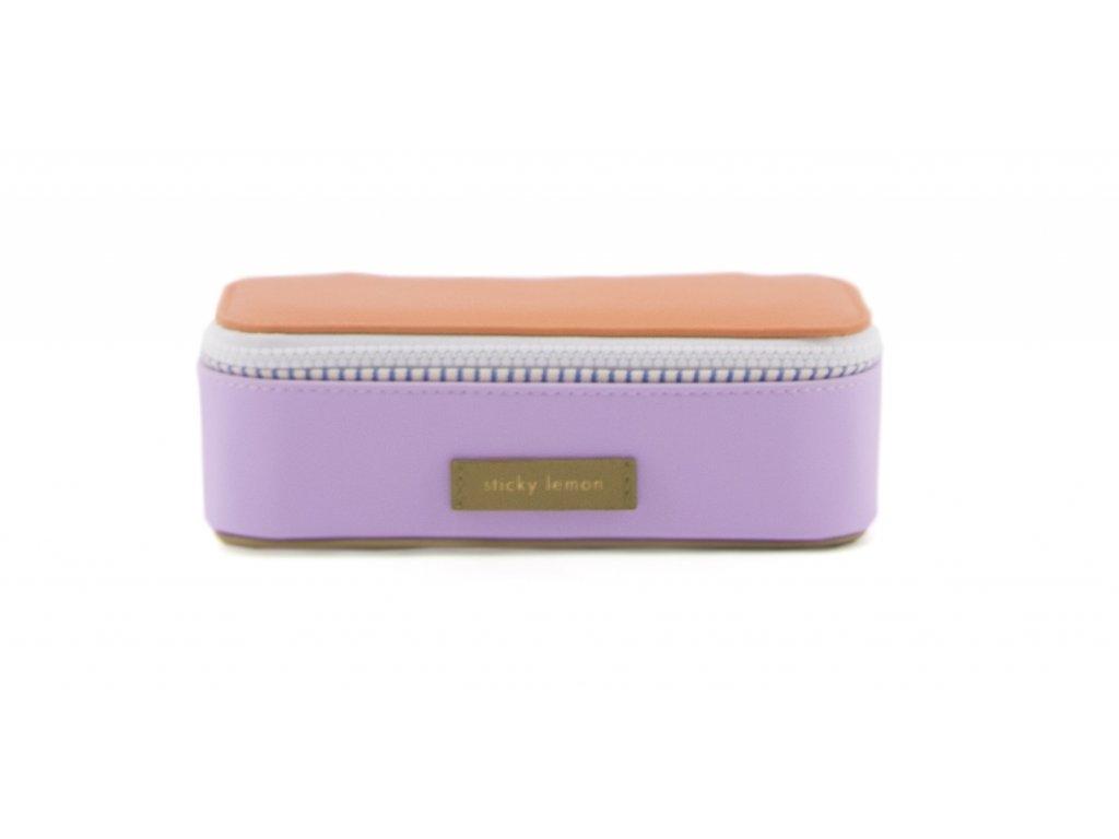 1801421 Sticky Lemon pencilbox Madam olive, gustave lilac, concierge orange front