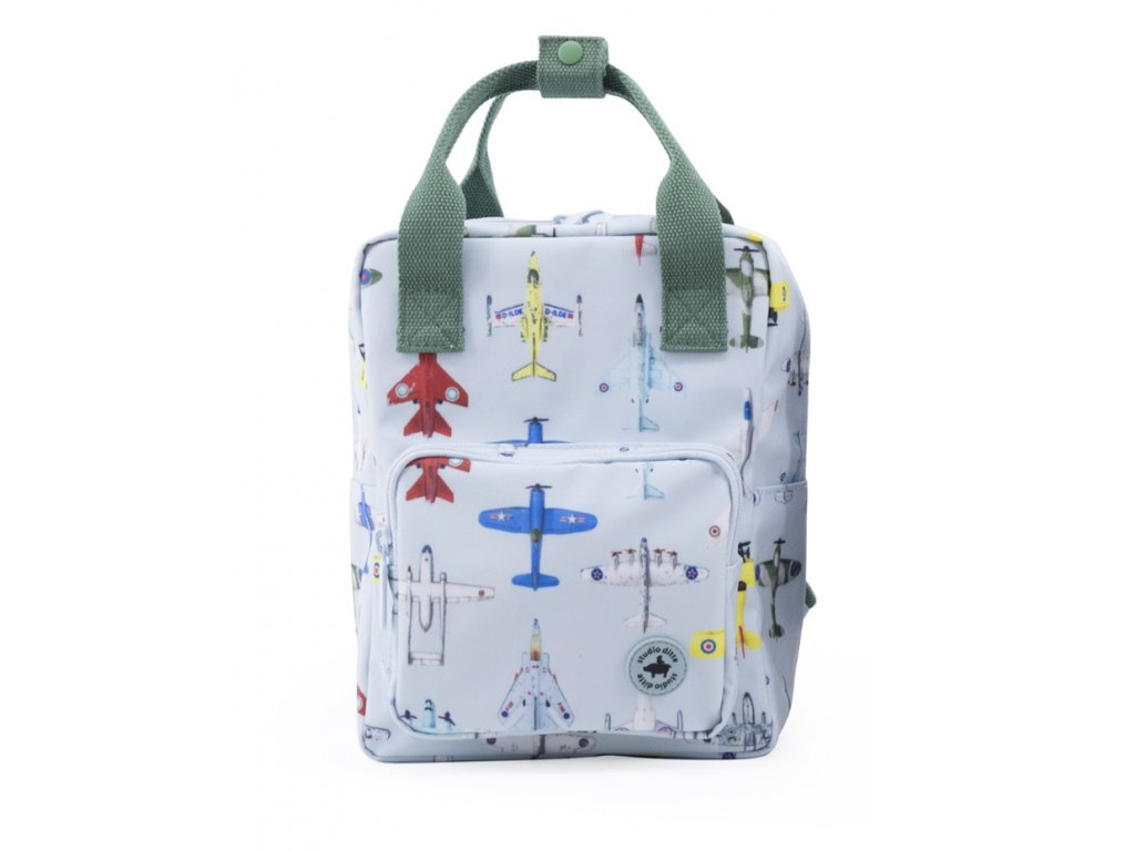 1702003 Studio Ditte backpack small boys airplanes