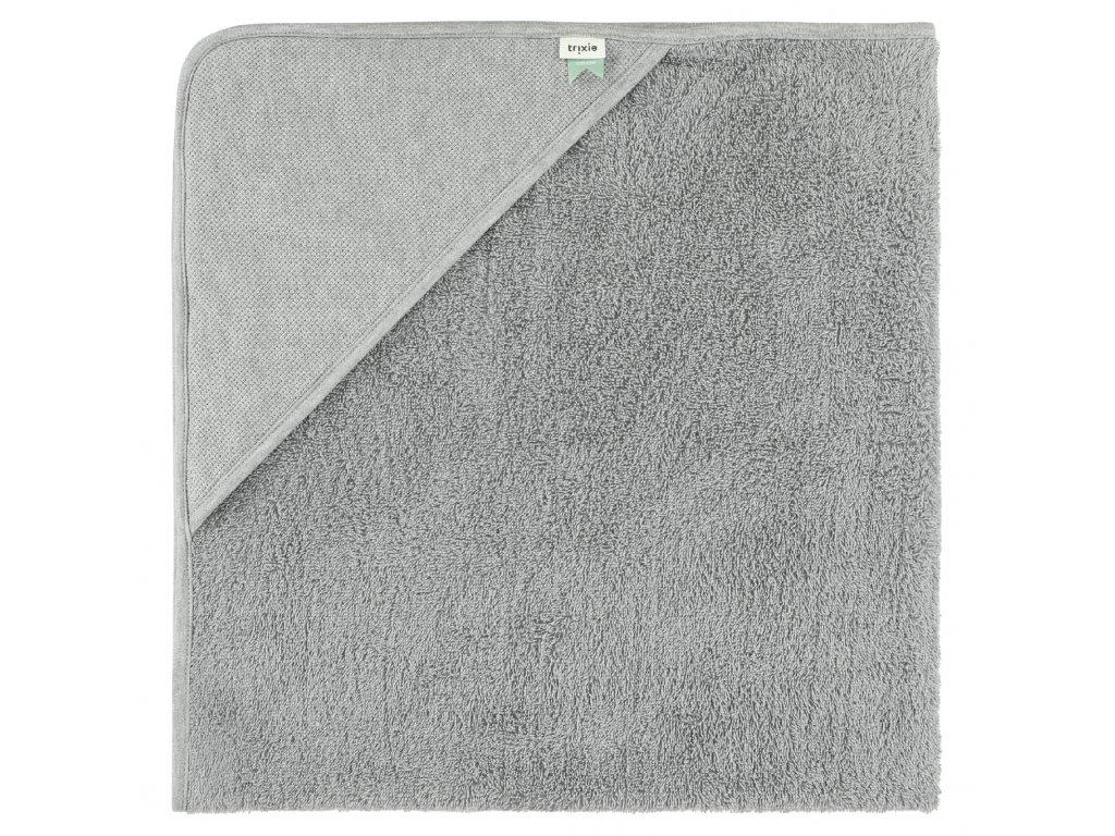 1131785 detska osuska s kapuci trixie xl grain grey