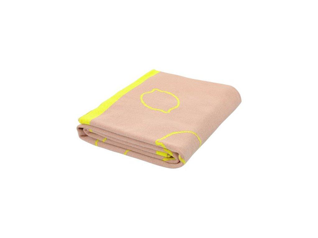 1131809 pletena deka trixie lemon squash