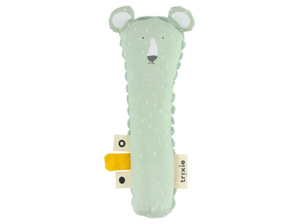1132112 piskaci hracka pro nejmensi trixie mr polar bear