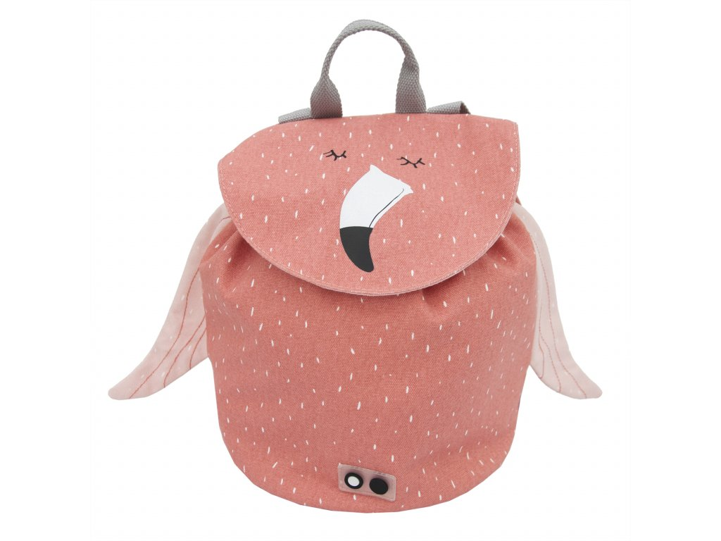 1132190 detsky batoh trixie mini mrs flamingo