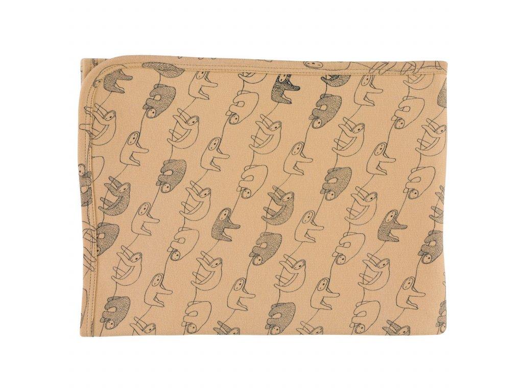 1133267 1 prikryvka 100 organicka bavlna trixie silly sloth