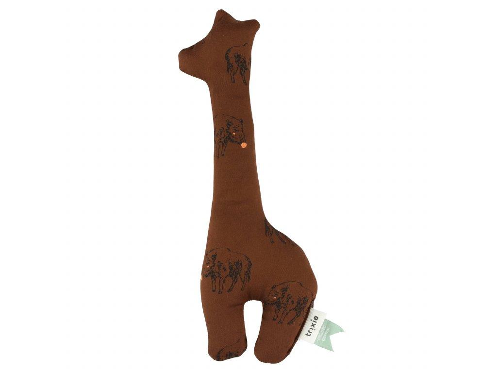 Chrastítko a pískátko Žirafa Trixie - Truffle Pig